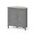 The Mulsanne Grey Wooden Corner Cupboard