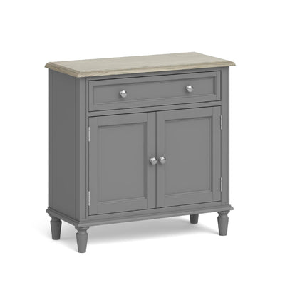 The Mulsanne Grey Mini Sideboard by Roseland Furniture