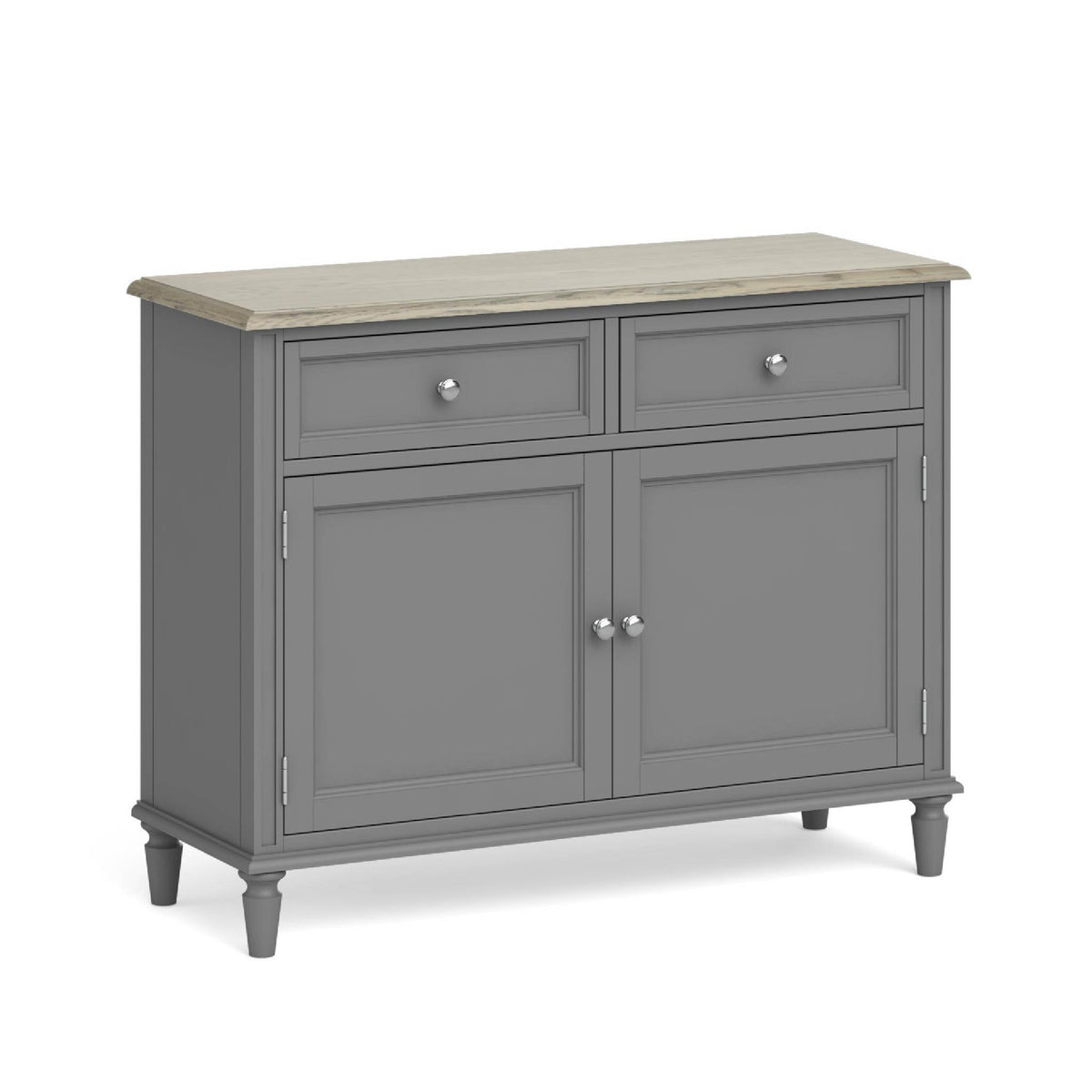 Mulsanne Grey Small Sideboard by Roseland Furniture