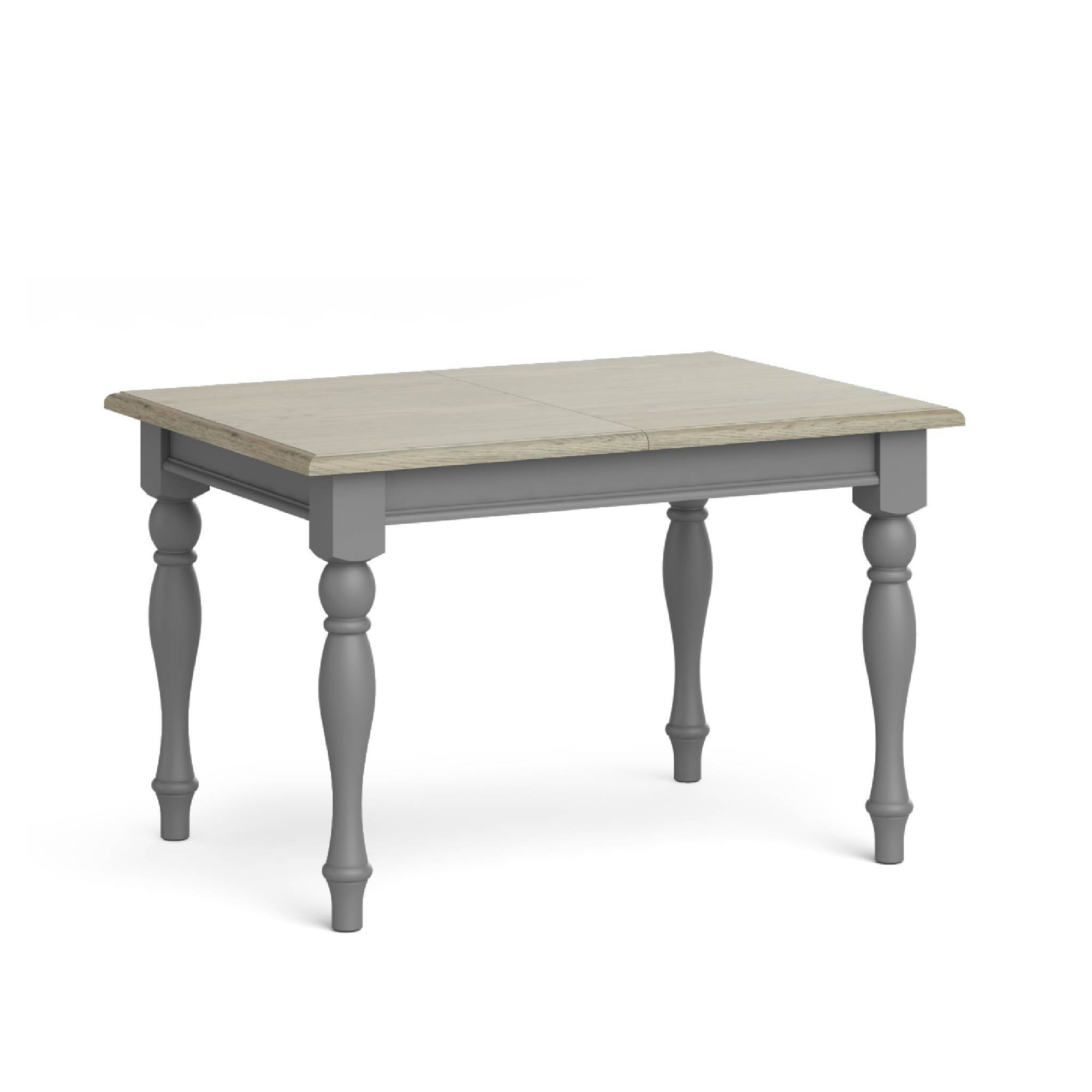 Mulsanne Grey Compact Extending Dining Table by Roseland Furniture