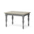 Mulsanne Grey Compact Extending Dining Table
