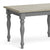 Mulsanne Grey Compact Extending Dining Table - Close Up