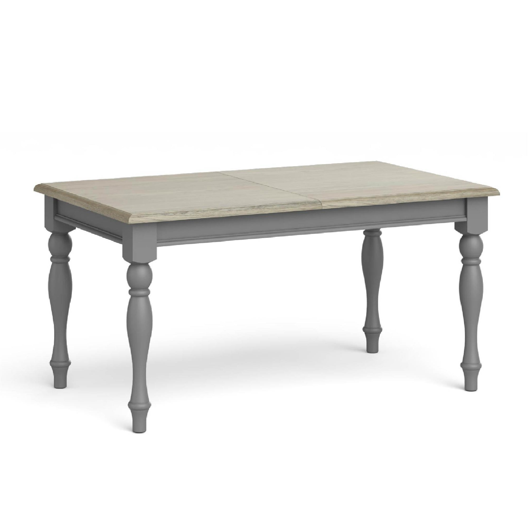 The Mulsanne Grey Small Extending Dining Table from Roseland Furniture