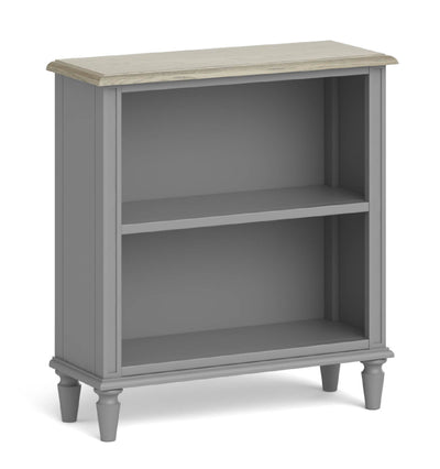 The Mulsanne Grey French Style Small Bookcase by Roseland Furniture