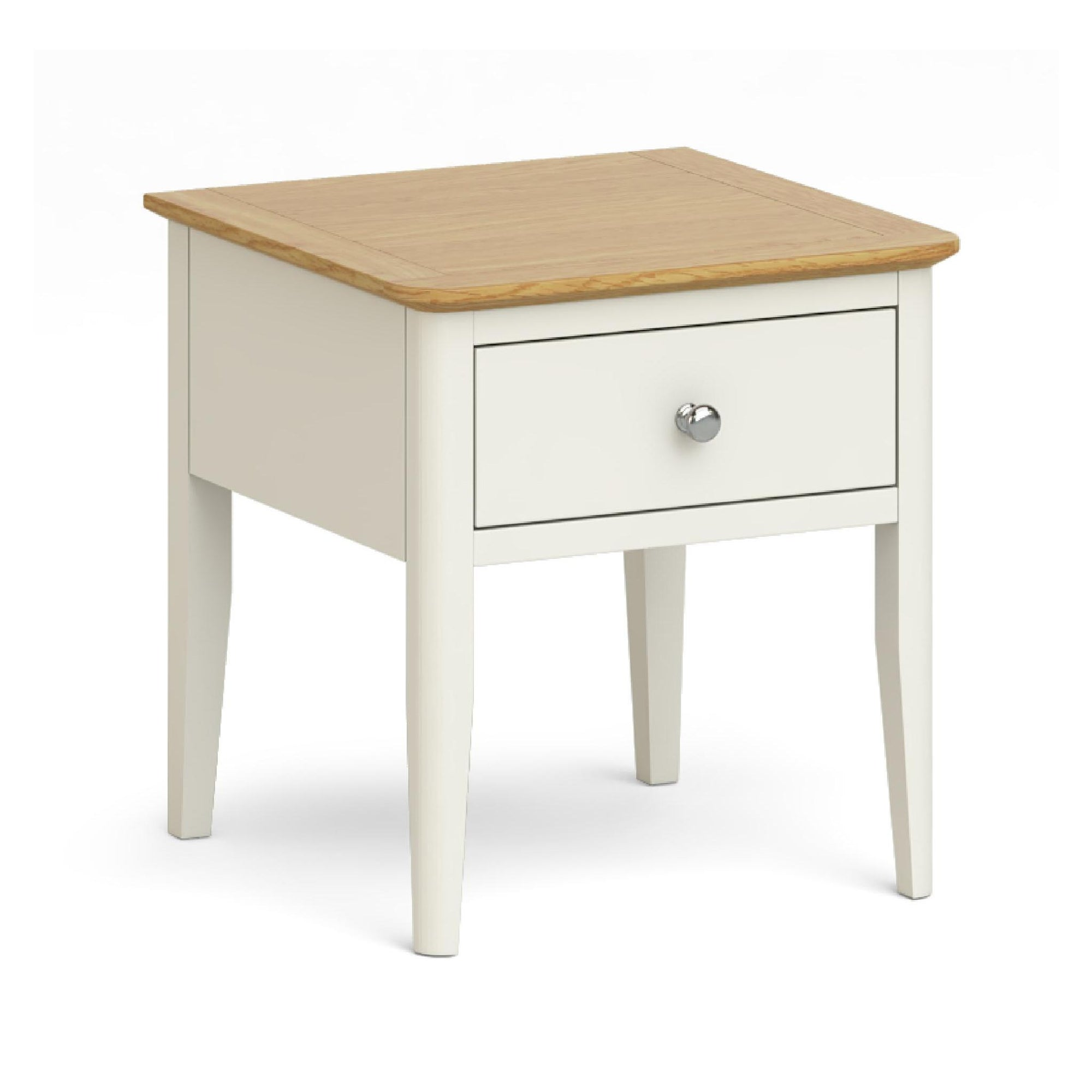 Windsor Cream Lamp Table by Roseland Furniture