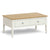 Windsor Cream Coffee Table by Roseland Furniture