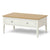 Windsor Cream Coffee Table with Storage Drawer