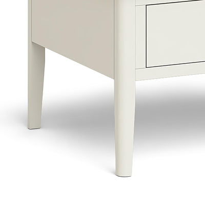Windsor Cream Coffee Table - Close Up of Table Legs