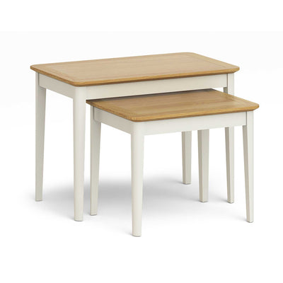 Windsor Cream Nest of Tables by Roseland Furniture