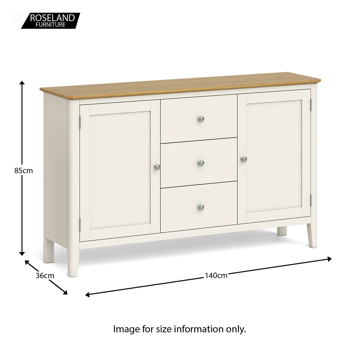 Windsor Cream Large Sideboard