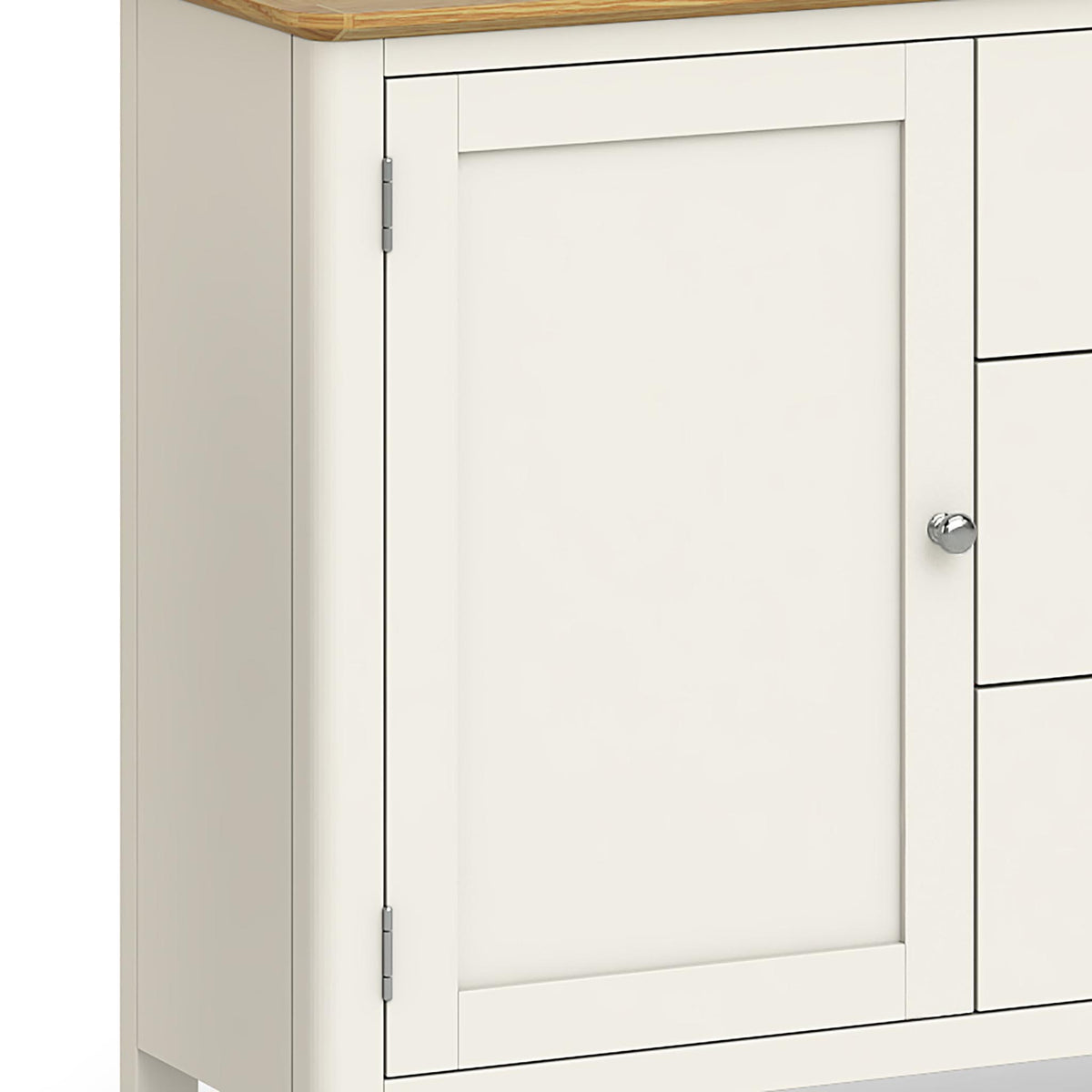 Windsor Cream Large Sideboard - Close Up of Cupboard Door