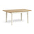 Windsor Cream Compact Extending Table by Roseland Furniture