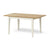 Windsor Cream Compact Extending Table - Table Extended