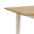 Windsor Cream Compact Extending Table - Close Up of Oak Table Top