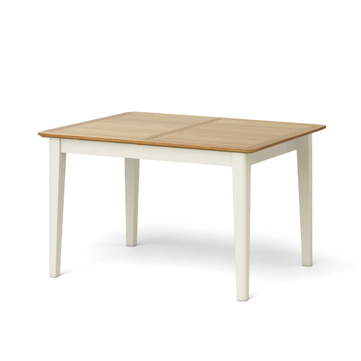 Windsor Cream Compact Extending Table - Table Closed