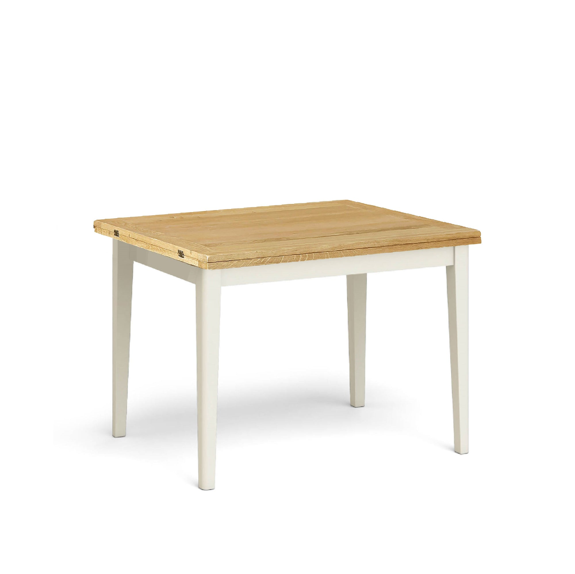 Windsor Cream Flip Top Dining Table by Roseland Furniture
