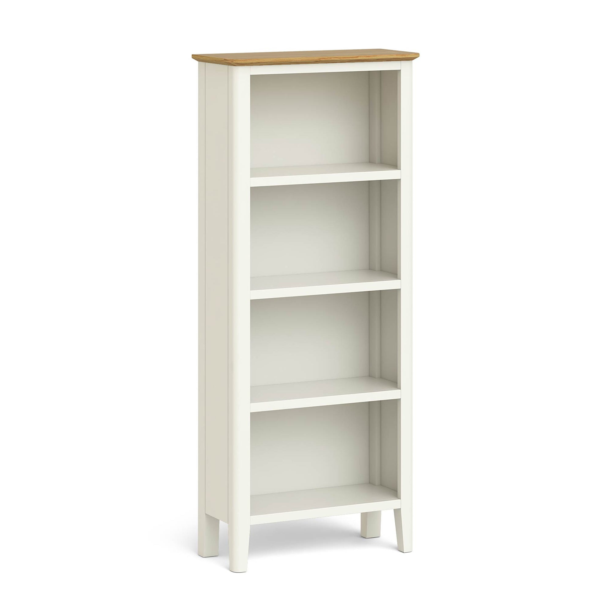 Windsor Cream Slim Bookcase by Roseland Furniture
