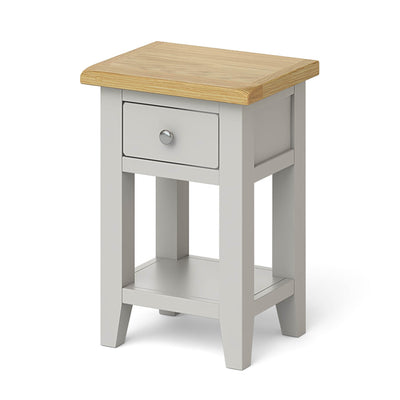Lundy Grey Lamp Table