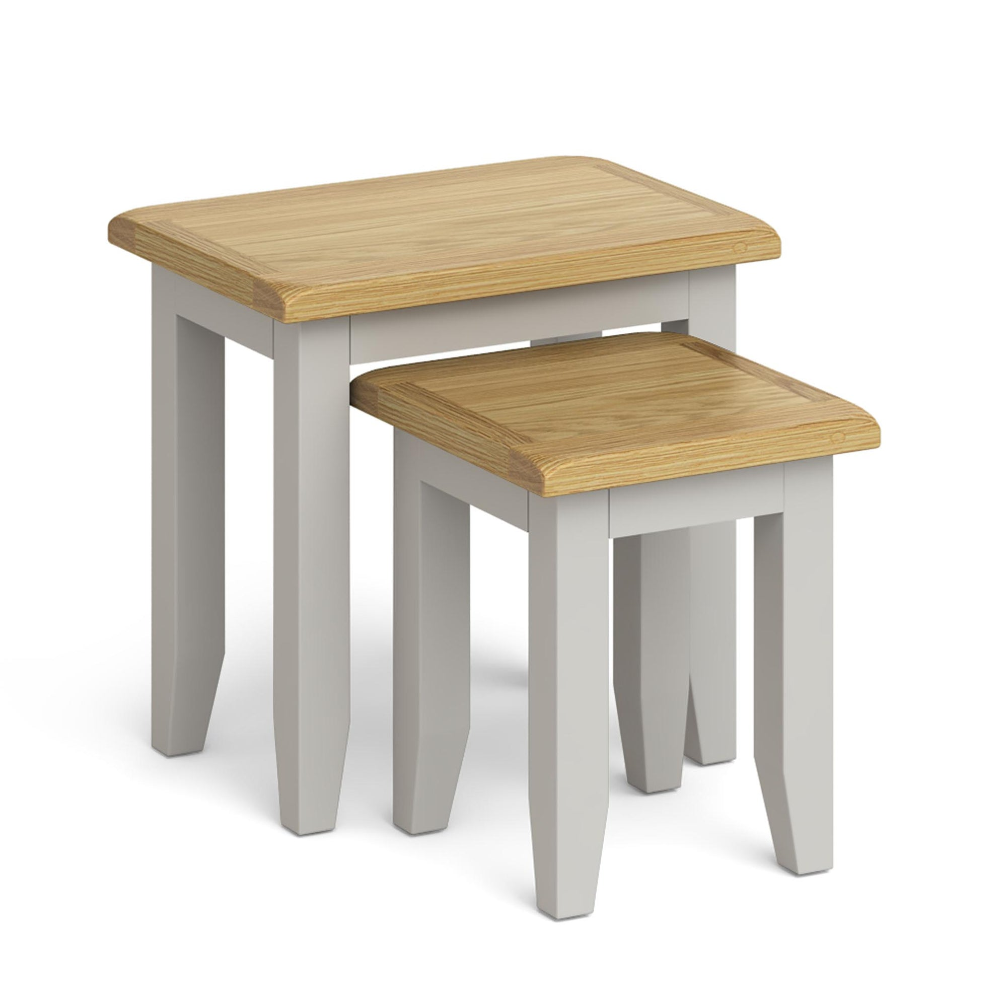 Lundy Grey Nest of Tables by Roseland Furniture