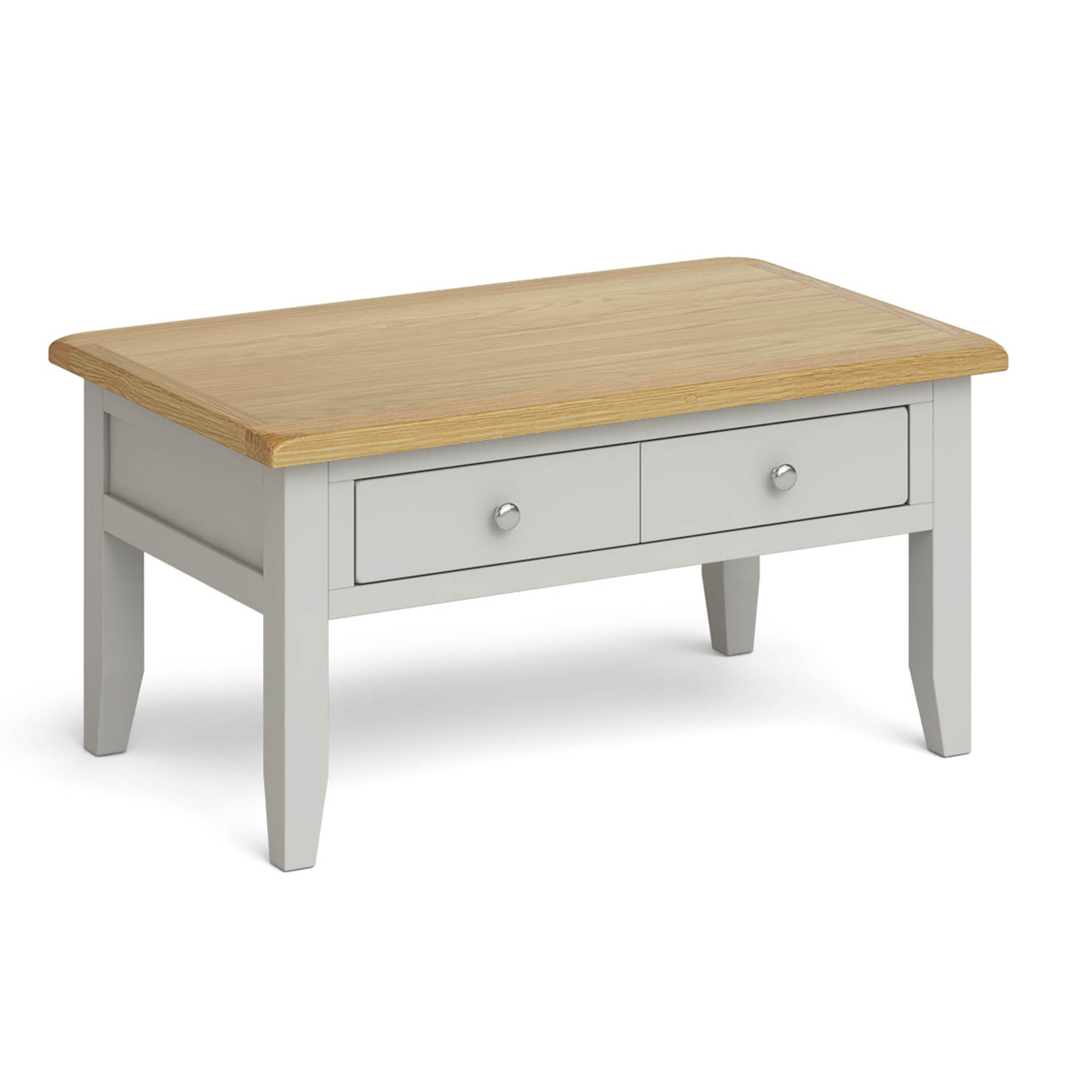 Lundy Grey Coffee Table by Roseland Furniture