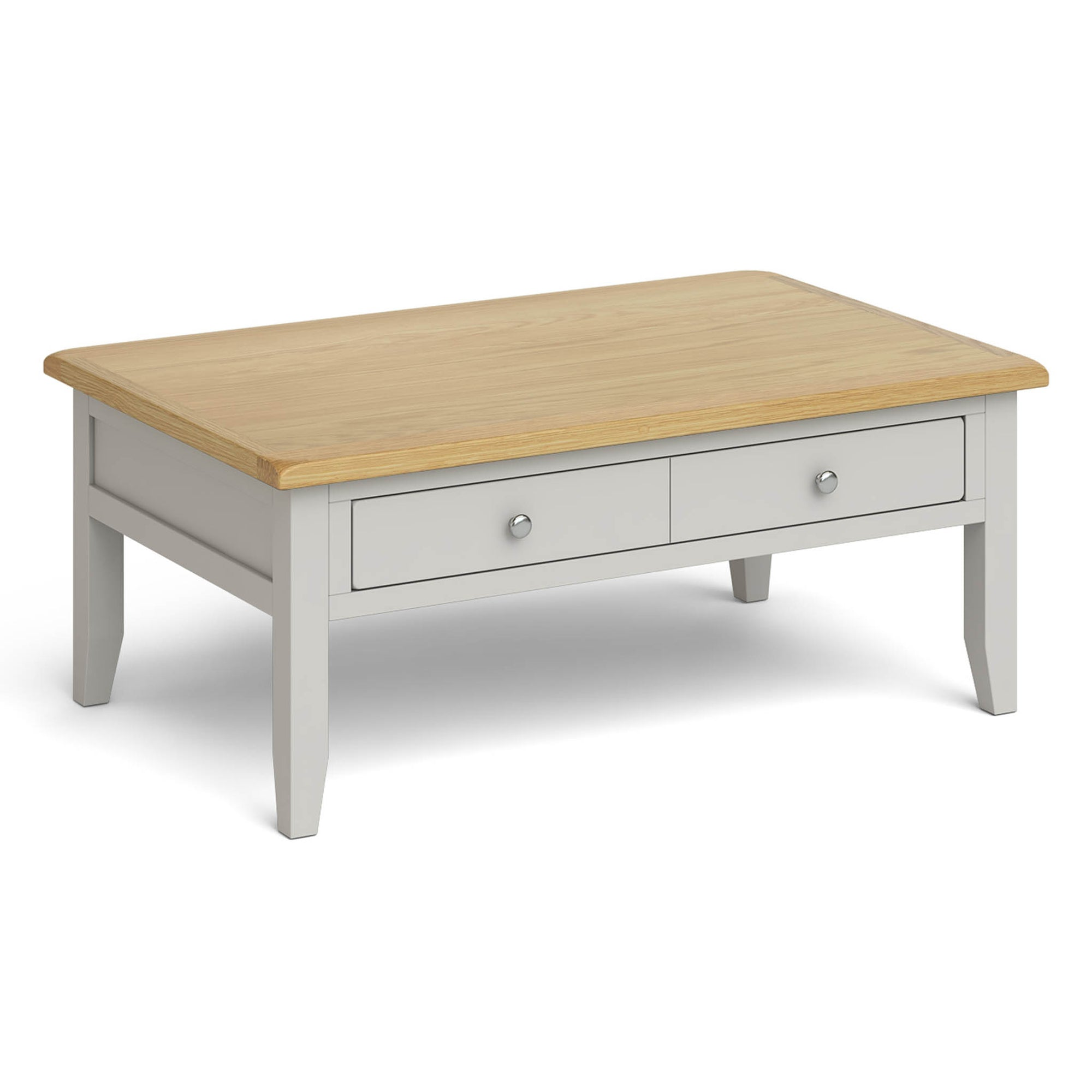 Lundy Grey Large Coffee Table by Roseland Furniture