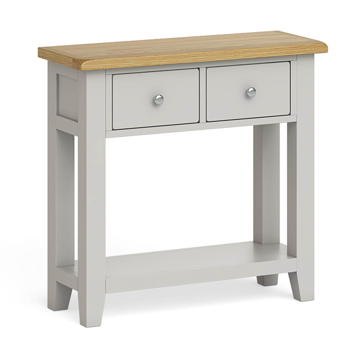 Lundy Grey Console Table by Roseland Furniture