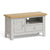 Lundy Grey Small TV Stand by Roseland Furniture