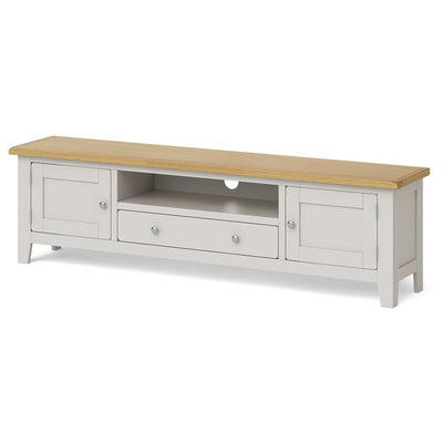 Lundy Grey Extra Large TV Unit