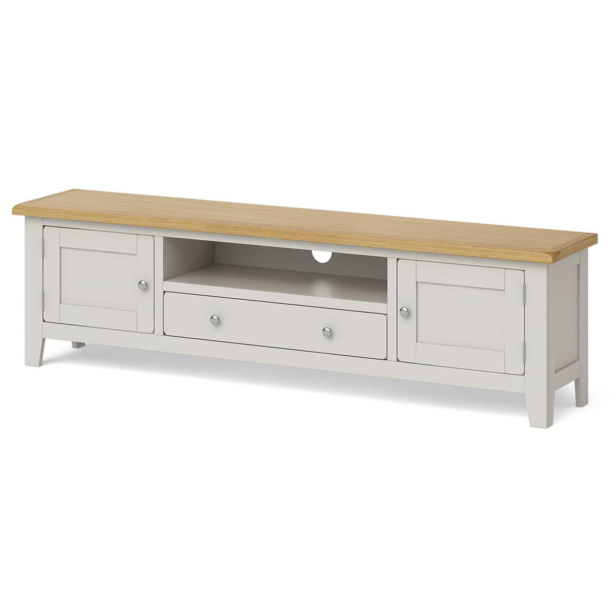 Lundy Grey 180cm Extra Large TV Stand