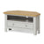 Lundy Grey Corner TV Stand