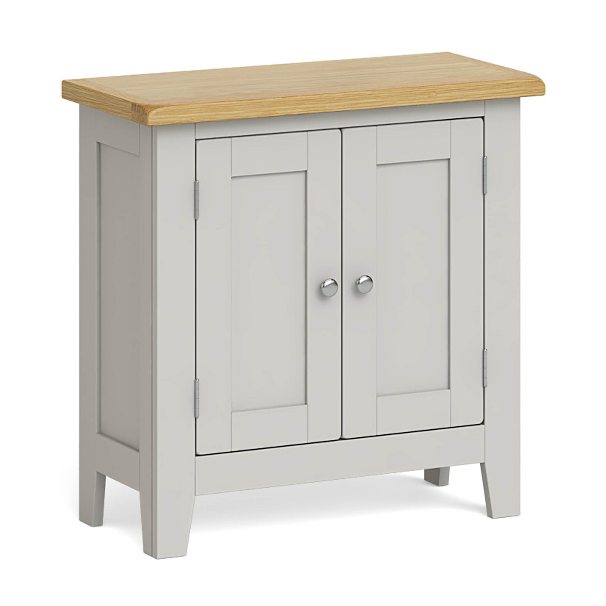 Lundy Grey Mini Cupboard by Roseland Furniture