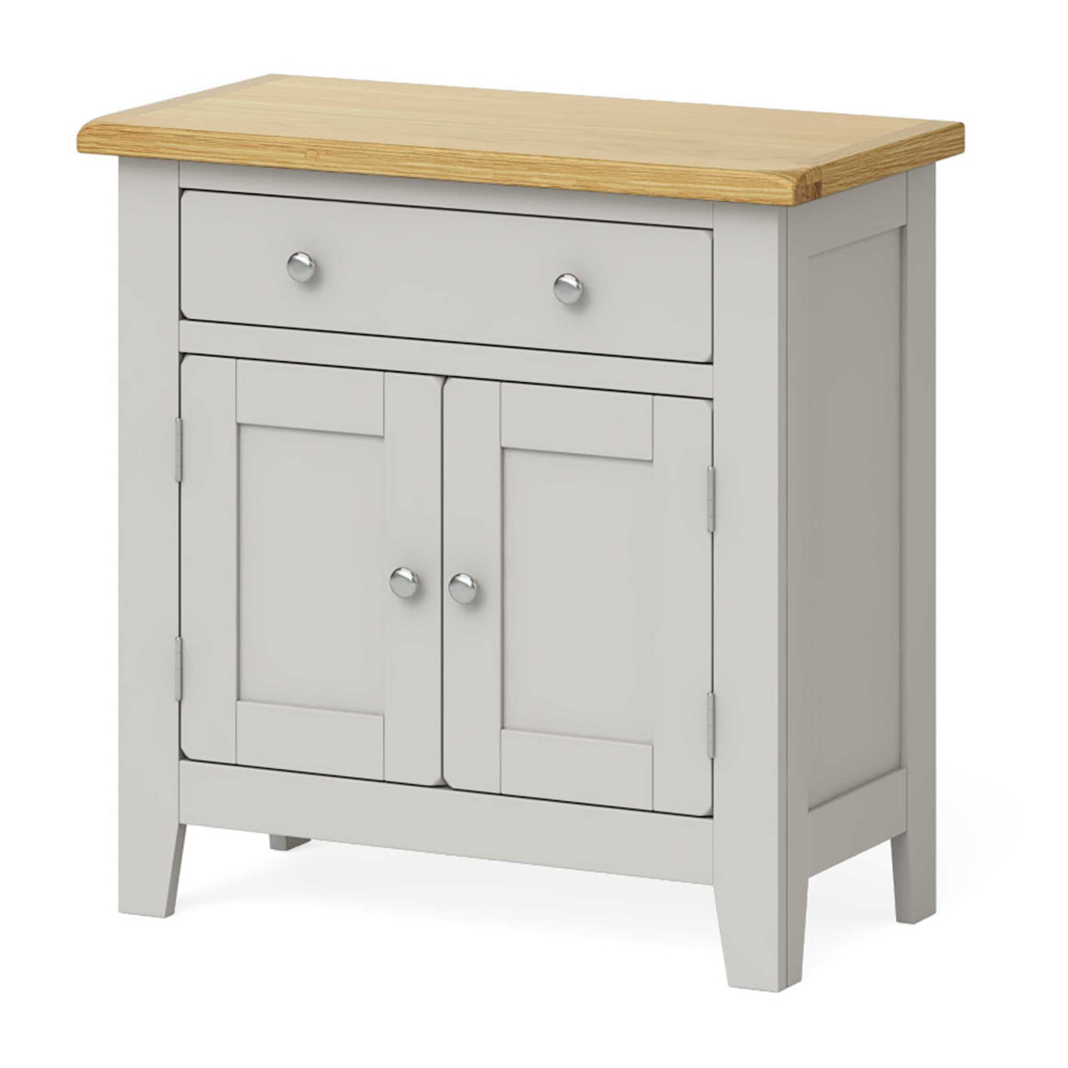 Lundy Grey Mini Sideboard - Side view