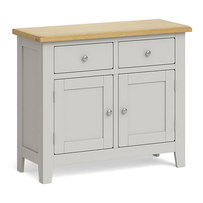 Lundy Grey Small 2 Door Sideboard by Roseland Furniture