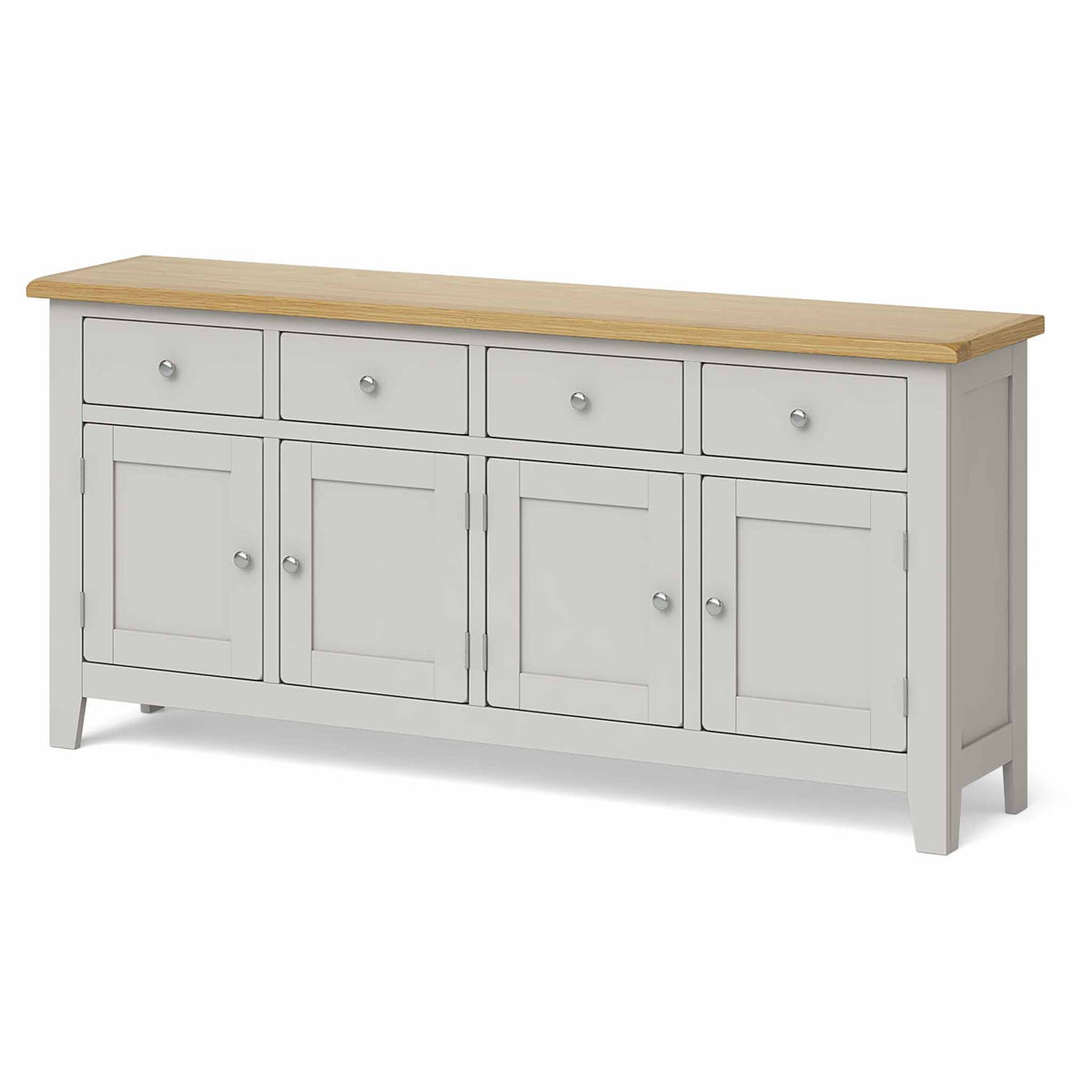 Lundy Grey Extra Large Sideboard Unit- Side view