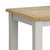 Lundy Grey Small Compact Extending Dining Table - Close Up of Oak Top