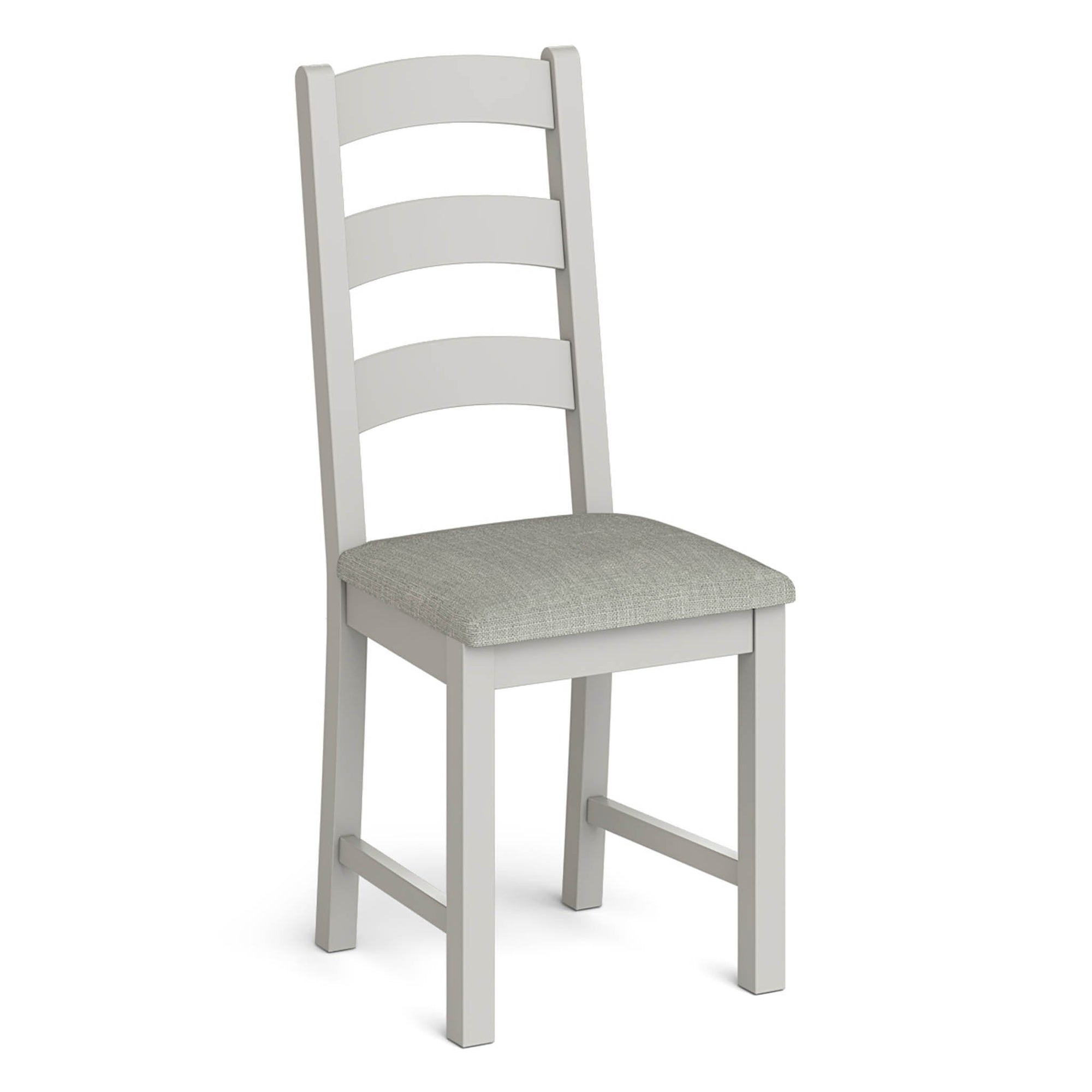 Lundy Grey Ladder Back Dining Chair by Roseland Furniture