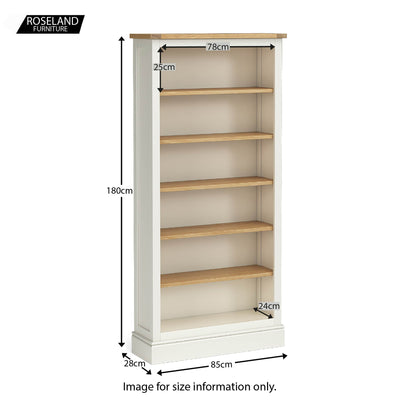 Chichester Large Bookcase - 5 Colours