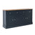 Chichester Charcoal Black Extra Large Sideboard from Roseland Furniture