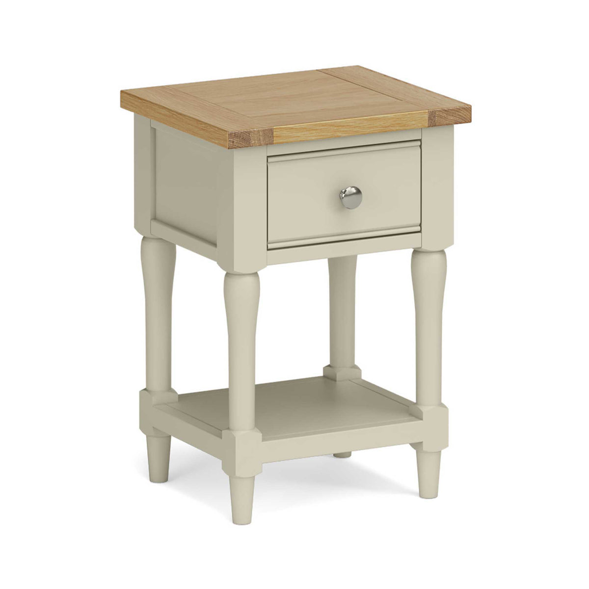 Chichester Lamp/Side Table in Ledum Green by Roseland Furniture