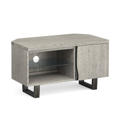 Soho Corner TV Stand with Glass Shelf by Roseland Furniture