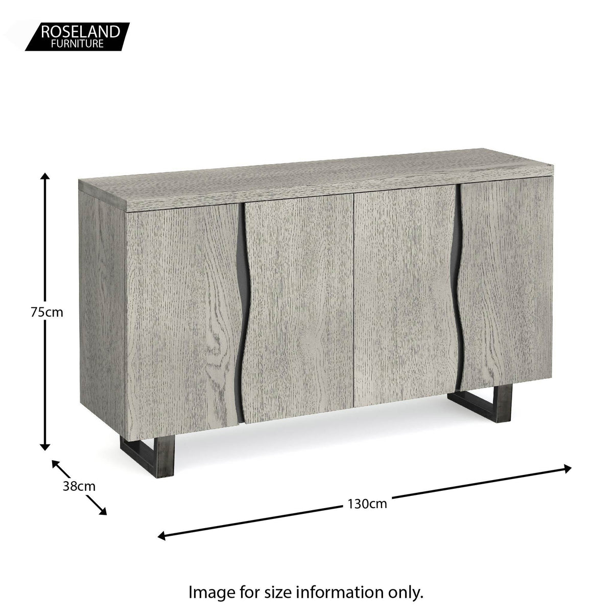 Dimensions - Soho Large Sideboard