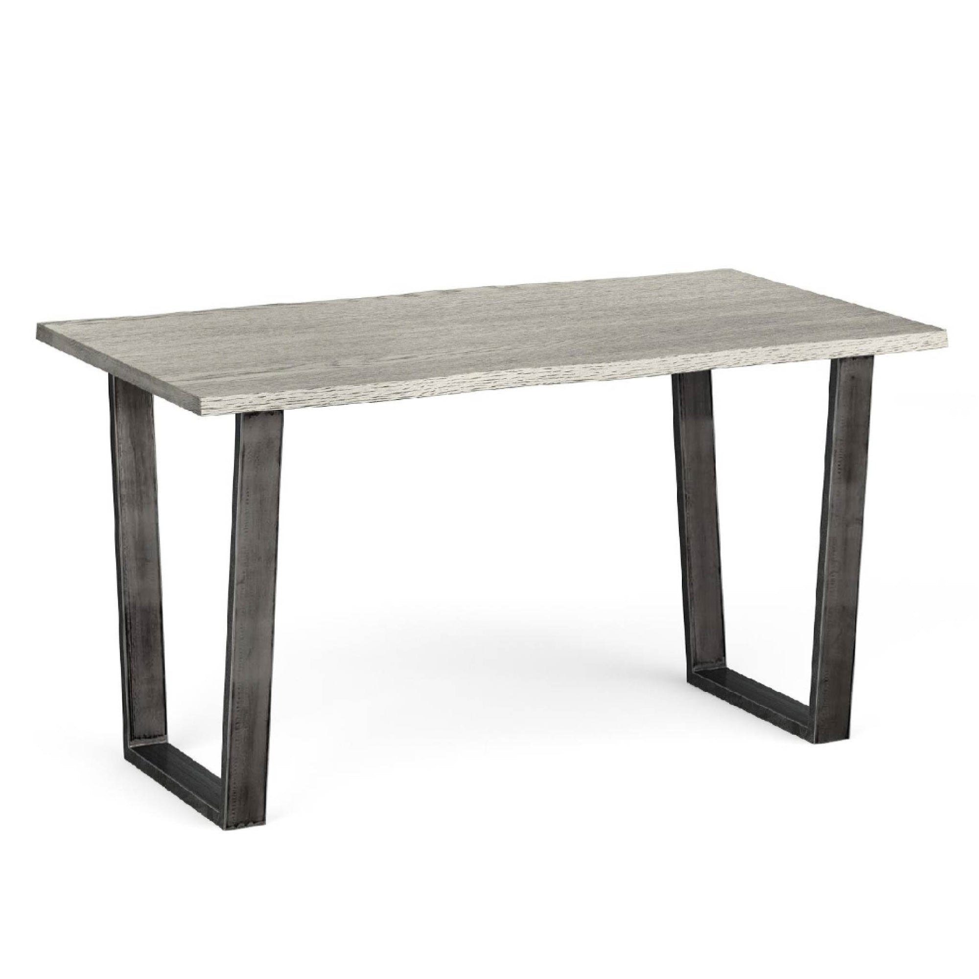 The Soho Grey Industrial Dining Table 140cm from Roseland Furniture