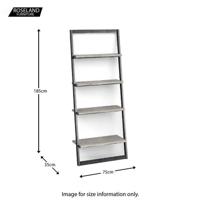 Dimensions - Soho Ladder Bookcase