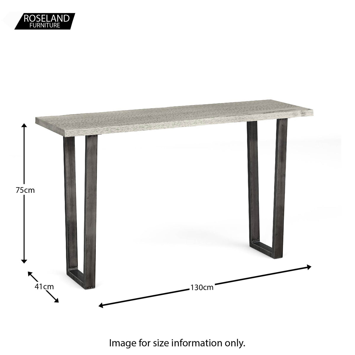 Soho Console or Hall Table - size guide