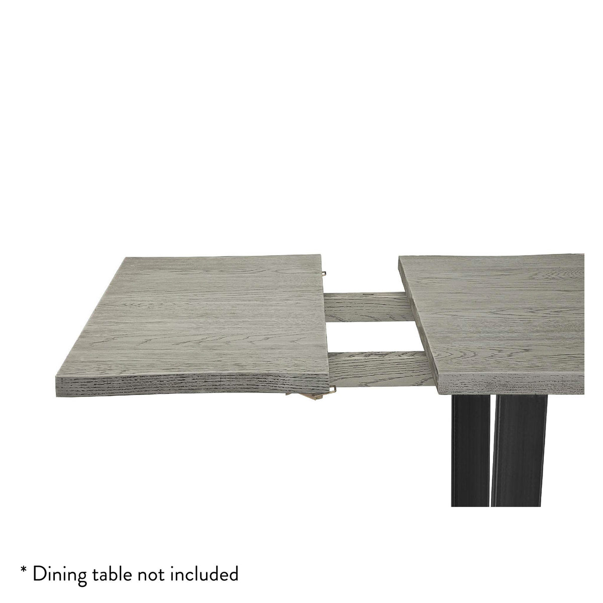Soho Grey Dining Table Extension Leaf by Roseland Furniture