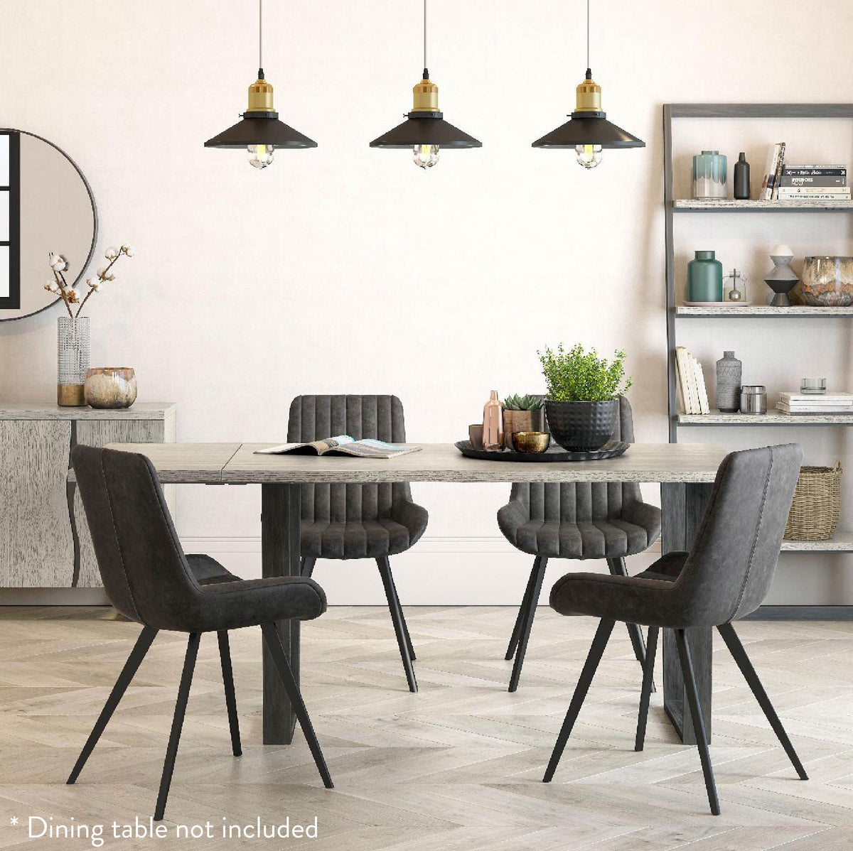 Soho Grey Dining Table Extension Leaf