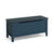 Stirling Blue Blanket Box Storage Chest from Roseland Furniture