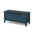 Stirling Blue Blanket Box Ottoman Chest from Roseland Furniture