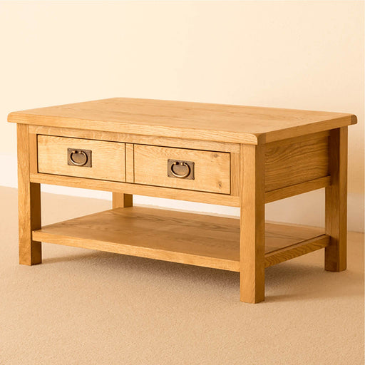 Lanner Oak Coffee Table by Roseland Furniture