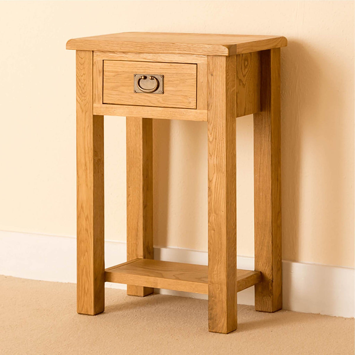 Lanner Oak Telephone Table By Roseland Furniture